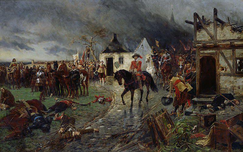 The principal battlefield