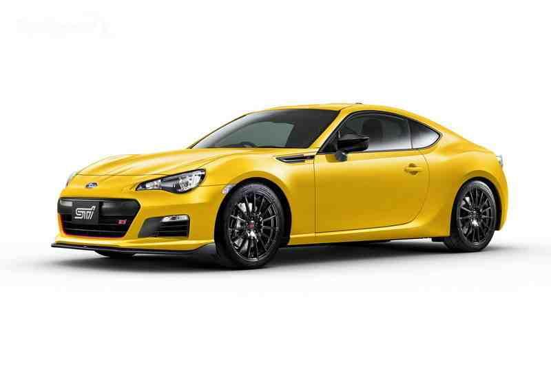 سوبارو BRZ TS STI 2016 الصفراء
