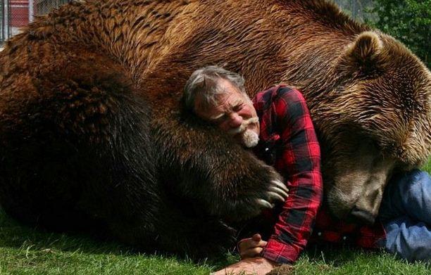 دوغ سيوس و الدب