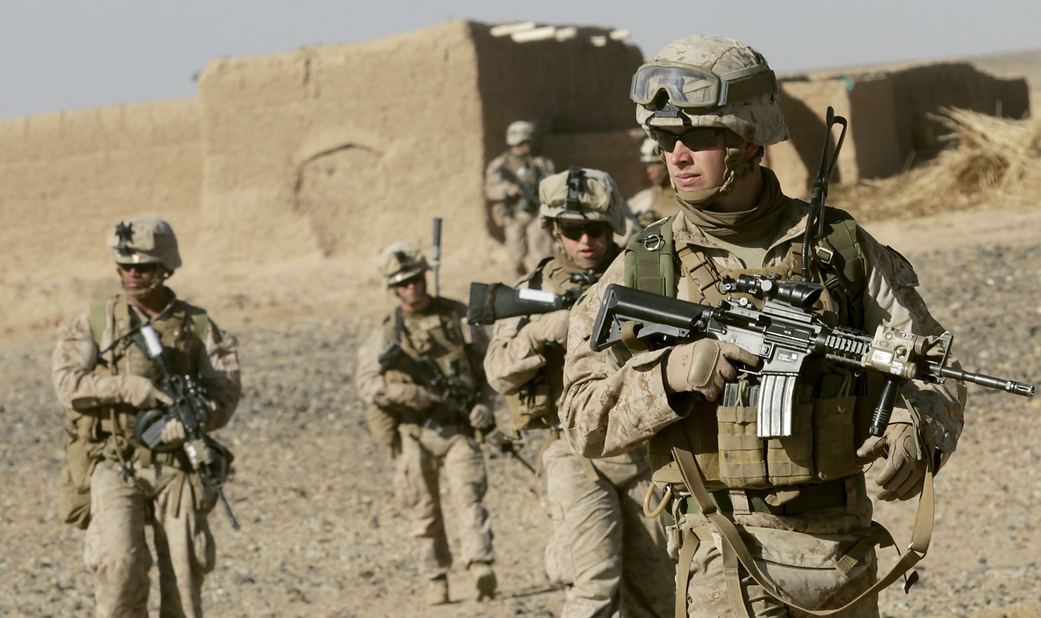 US combat troops on the ground if the Iraqis fail to restore Mosul by the end of 2016
