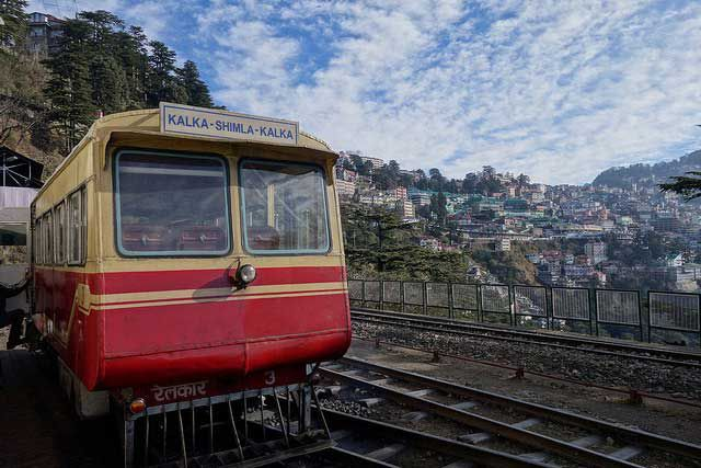 The enchanting beauty of Shimla