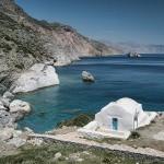 جزيرة امورجوس من مجموعة جزر سيكلاديز اليونانية