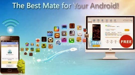برنامج Android PC Suite   لتوصيل وادارة الاندرويد على