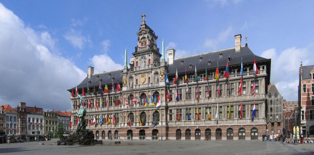 la ville Antwerp