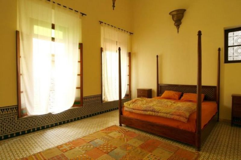 Bedrooms with Moroccan Decorated