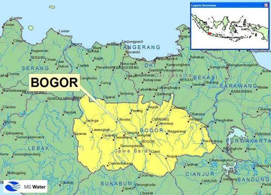 Bogor map   المرسال