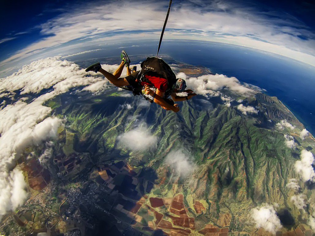 Hawaii Skydive