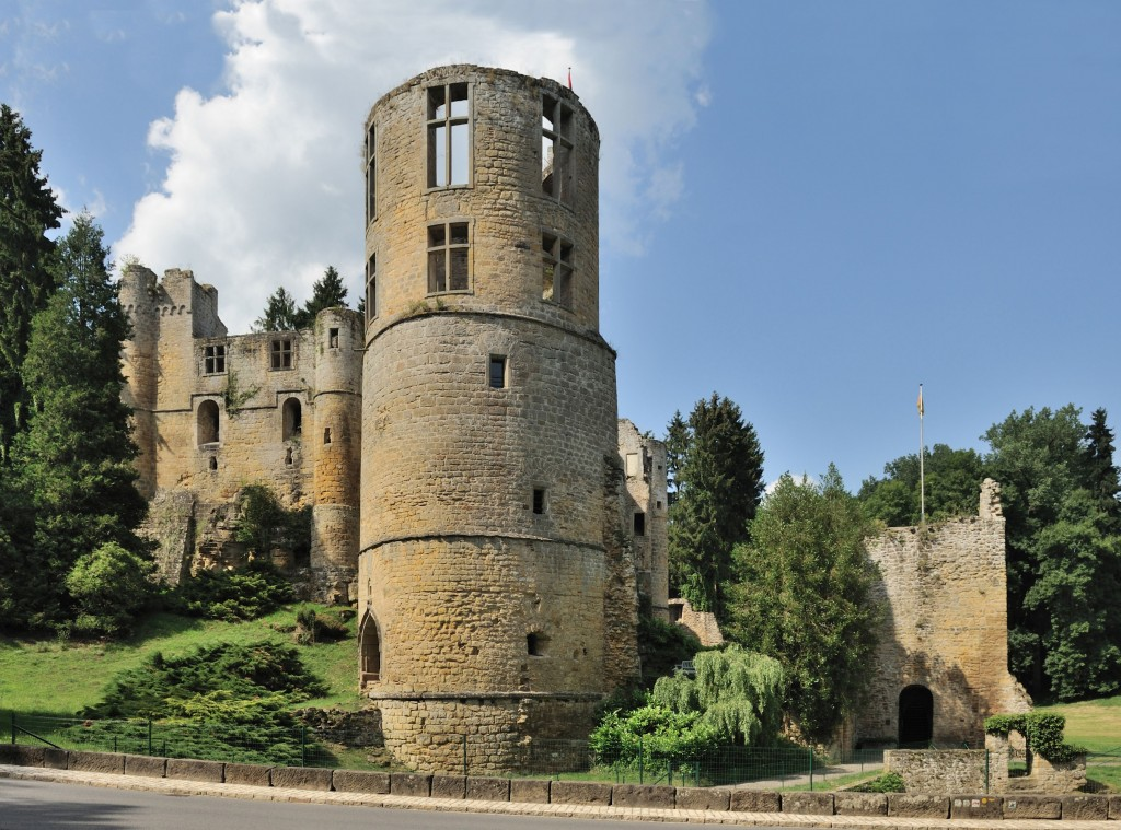 le chateau de Luxembourg