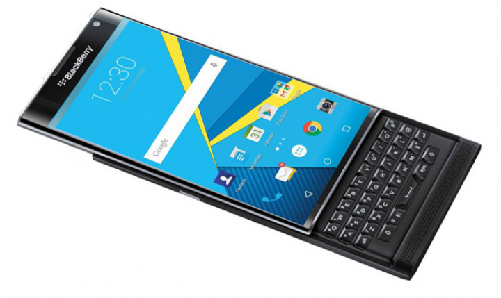 Screen Of BlackBerry Priv