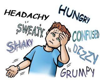 اعراض هبوط السكر في الدم