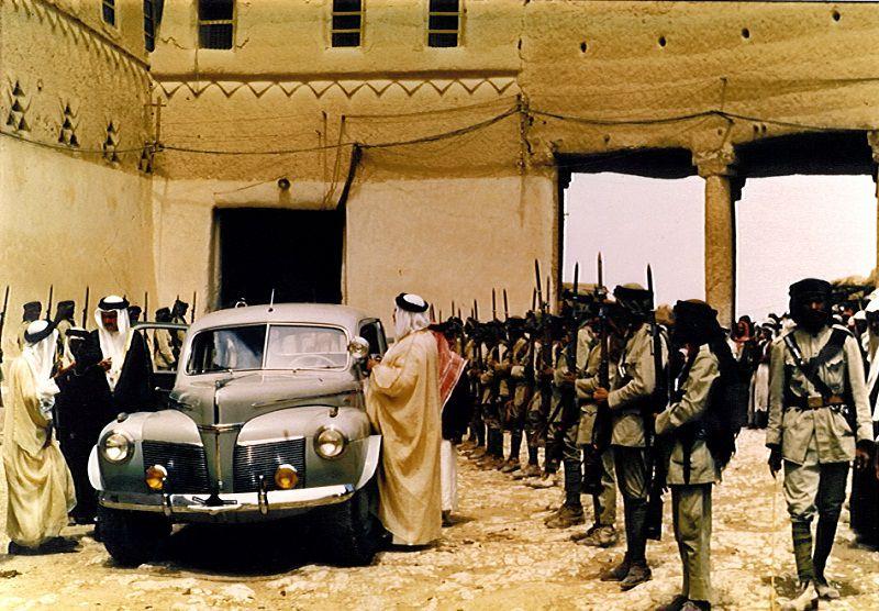 قصر الحكم في عهد الملك المؤسس عبدالعزيز رحمه الله