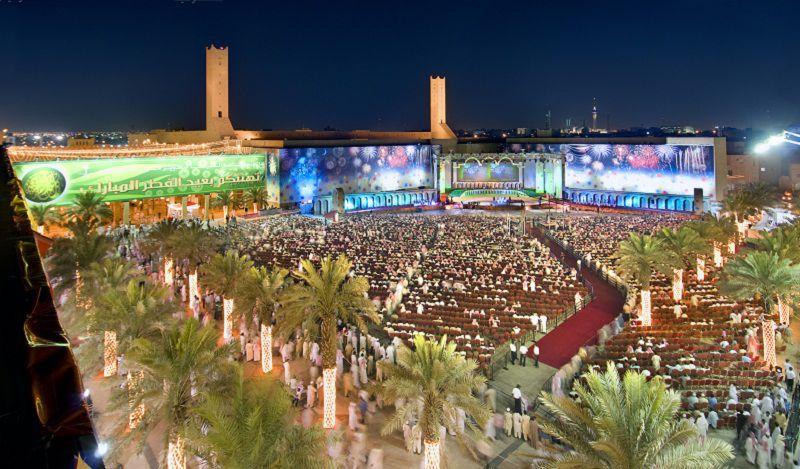 احتفالات العيد في قصر الحكم