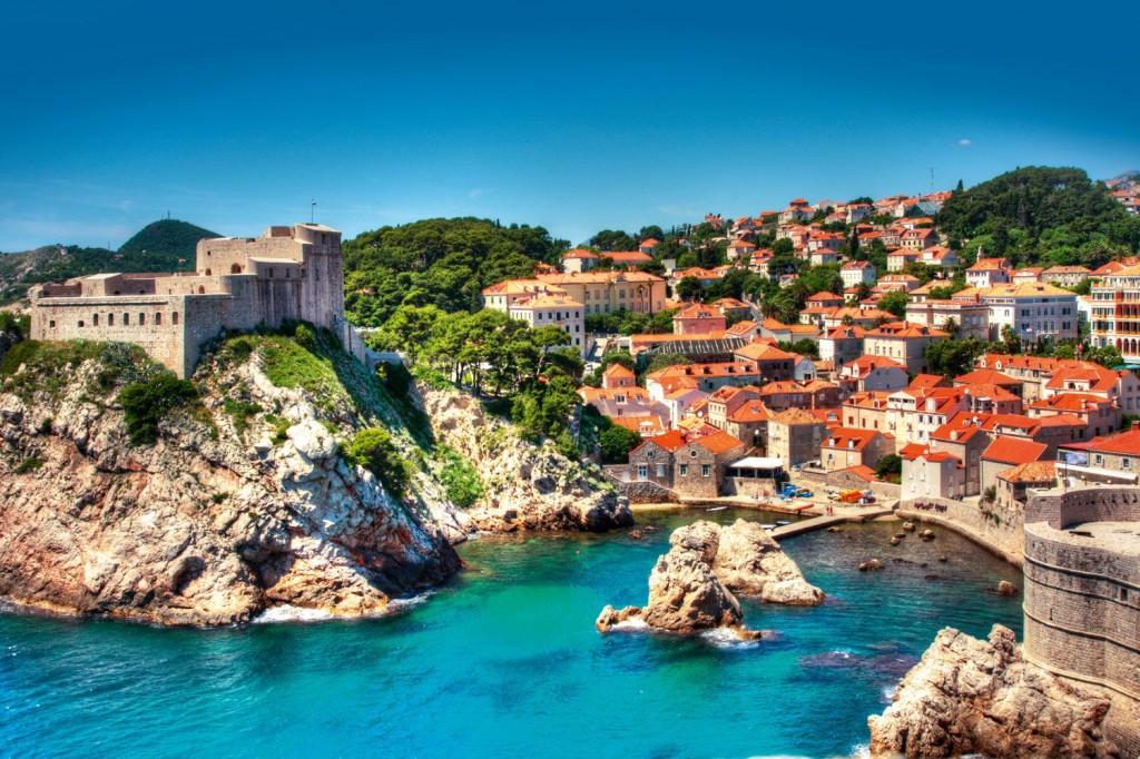 la ville croatie Dubrovnik