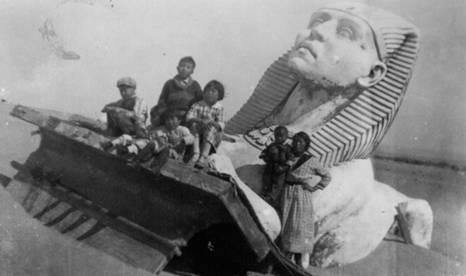 بقايا اثار مصرية
