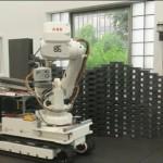 شاهد ابتكار روبوت  جديد لعمليات البناء