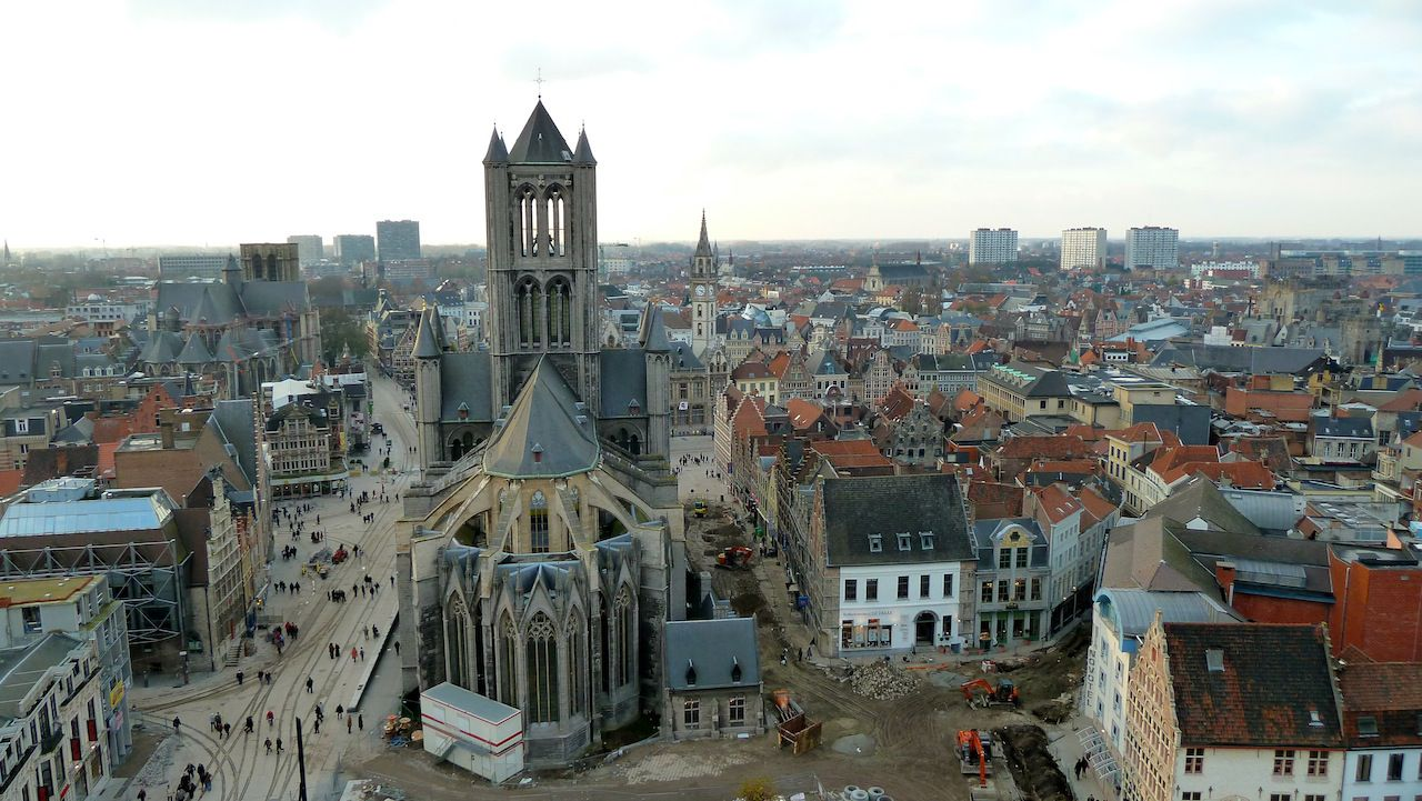 Ghent is a city in East Flanders