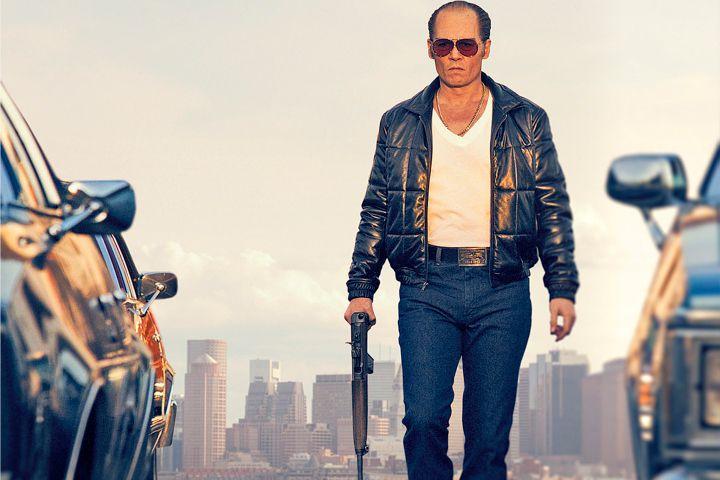 "l'acteur americain Johnny Depp The True Story of ""Black Mass"" The True Story of ""Black Mass"" Johnny Depp"