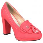 الحذاء ذو الكعب المربع - 277023