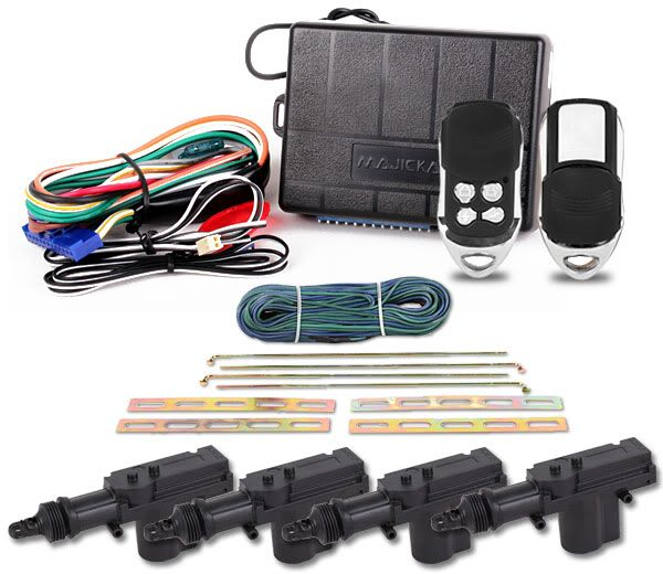 Remote Car Central Locking System
