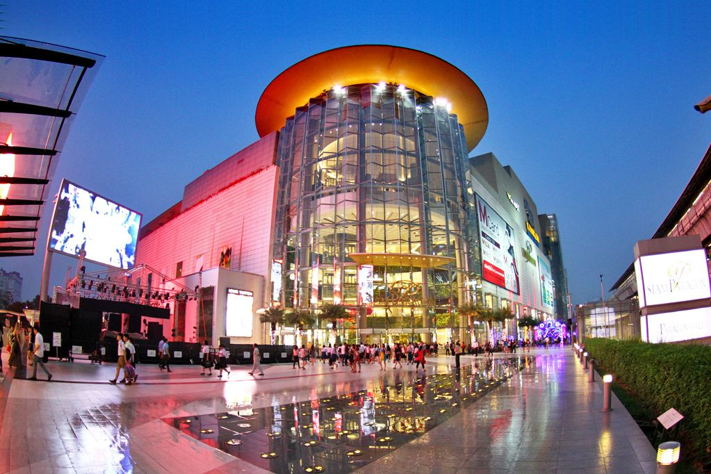 Siam Paragon is a shopping mall in Bangkok