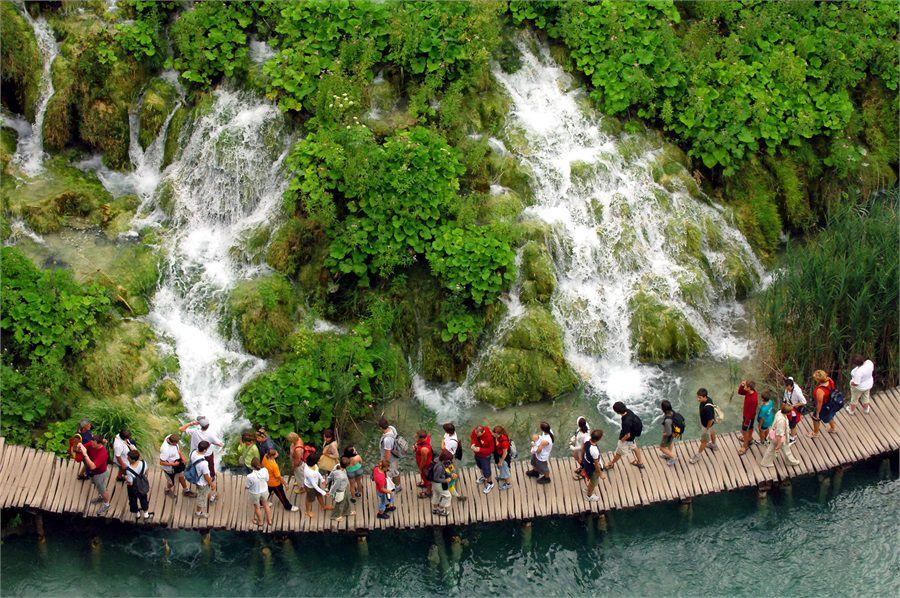 The Plitvice Lakes