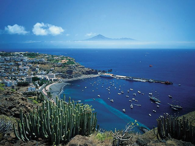 The island of La Gomera