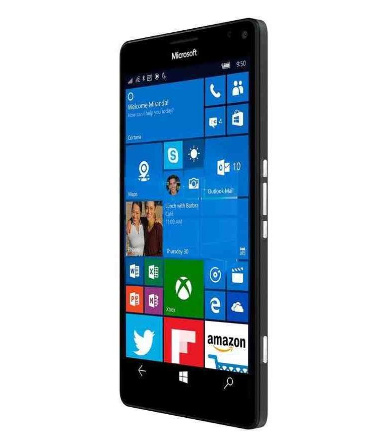 شاشة الجوال مايكروسوفت Lumia 950