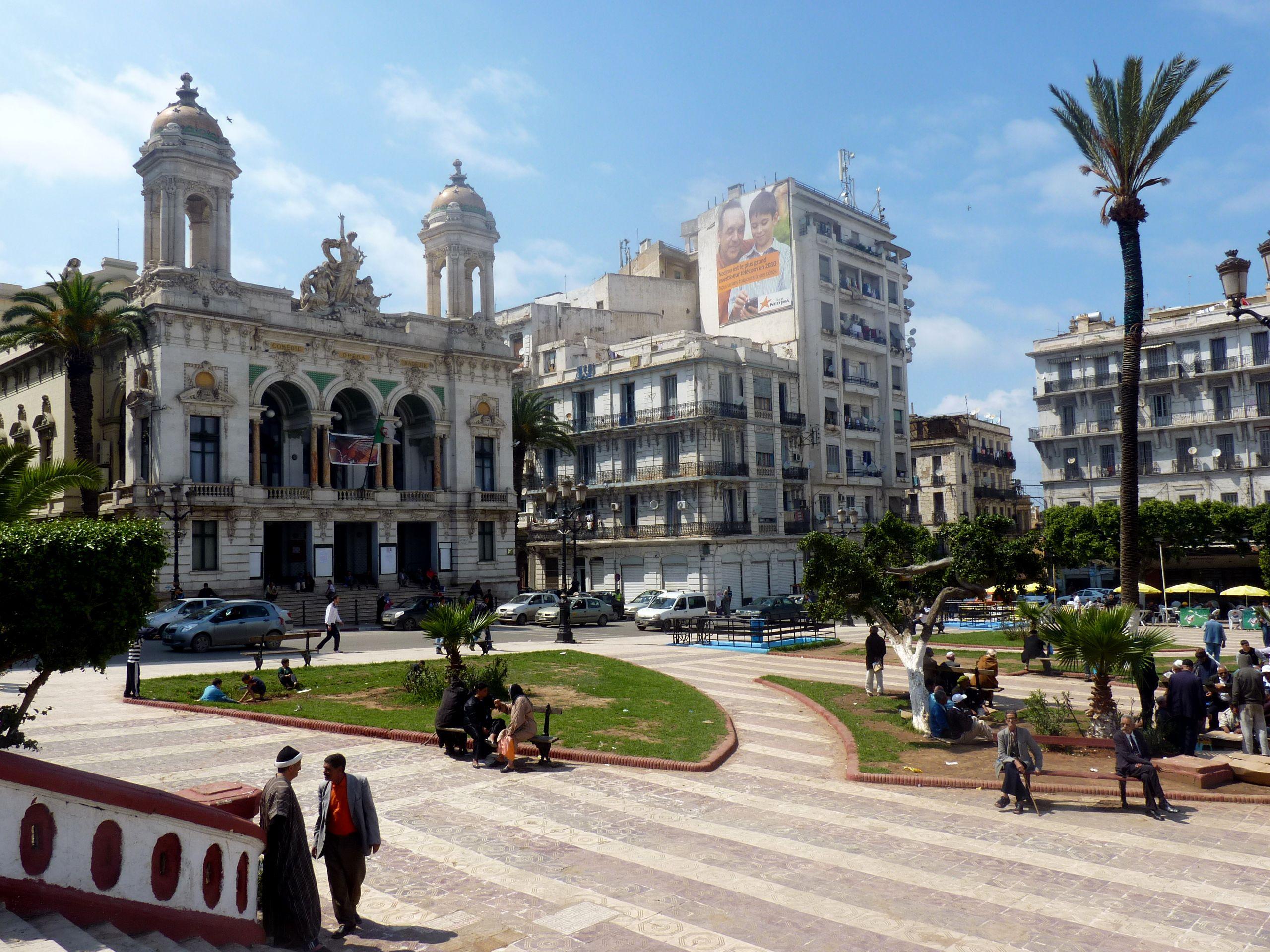 مدينة وهران الجزائر المدينة الباهية