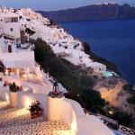 سانتوريني اليونانية .. جنة الرومانسية