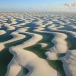 أغرب ما تراه بالطبيعة صحراء الرمال البيضاء التي بداخلها أسماك .!