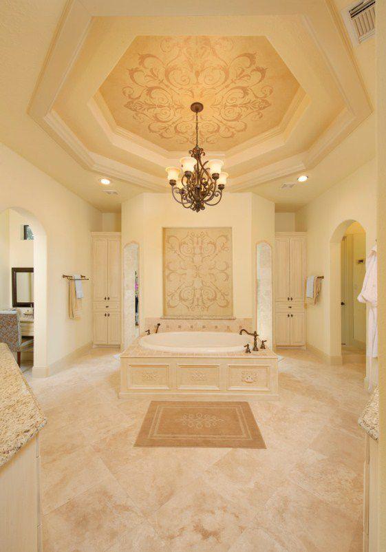 زخرفة سقف الحمام