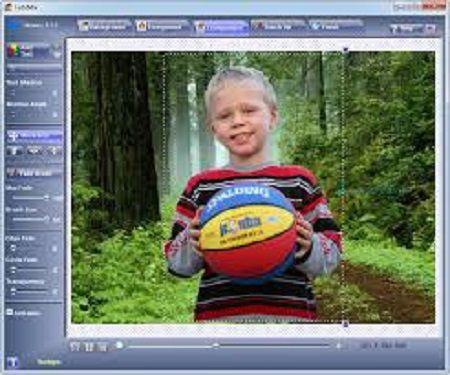 واجهة برنامج دمج الصور FotoMix