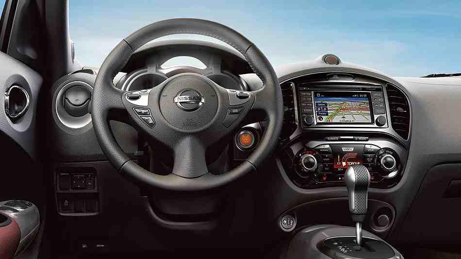 2016 for Nissan juke interieur