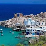 جزيرة ميلوس اليونانية