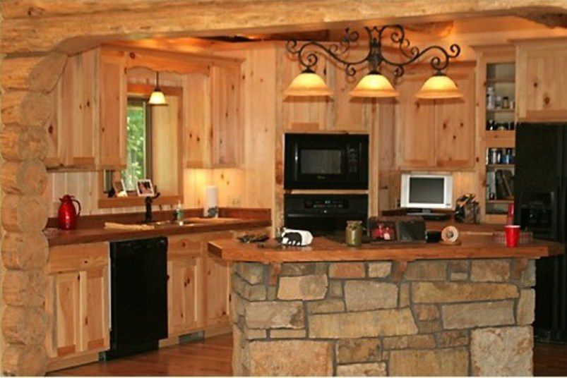 Rustic Colors To Paint Open Kitchen