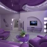 ديكور منزلك باللون البنفسجي المريح