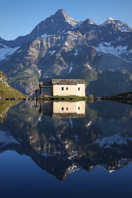 Schwarzsee Switzerland