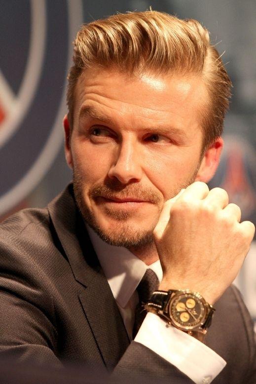 David Beckham Haircut 2013 Back اللاعب ديفي�...