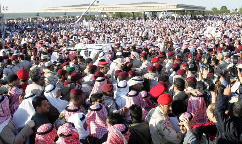 جنازة الشيخ جابر الأحمد الصباح