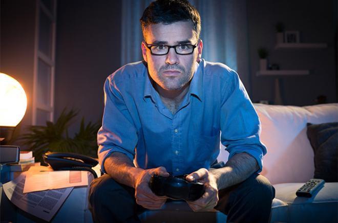 نتيجة بحث الصور عن مدمن على ألعاب الفيديو