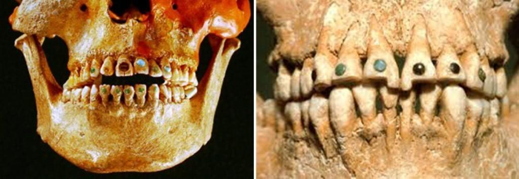 اسنان شعب المايا
