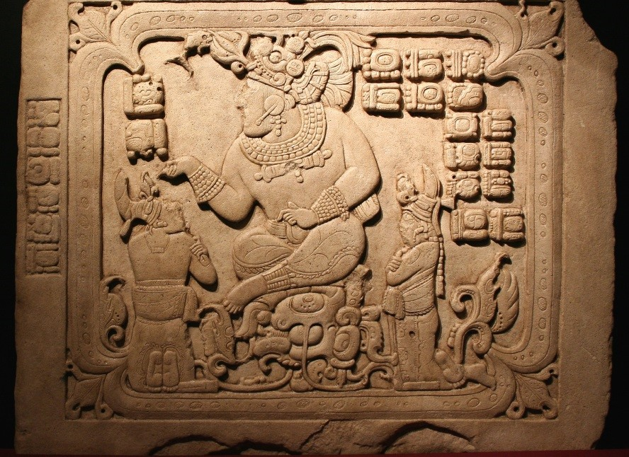 جدار شعوب المايا