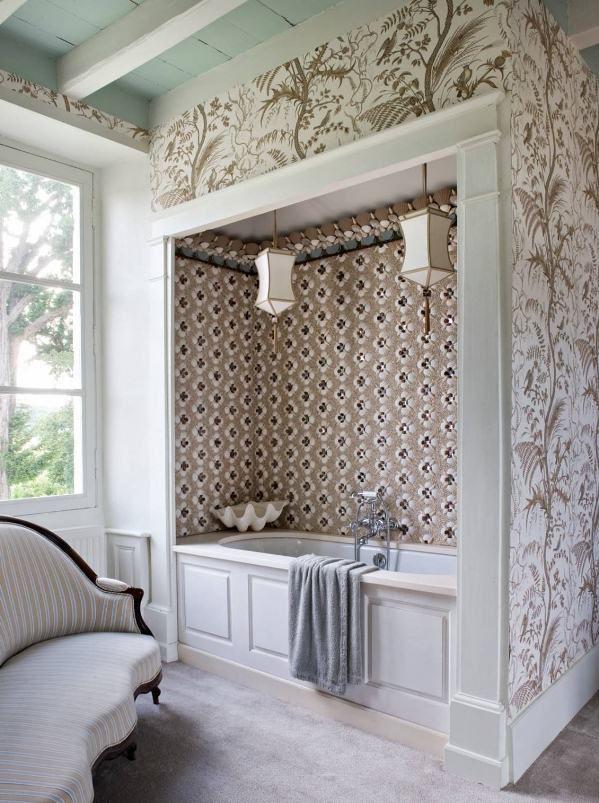 for Salle de bain rustique chic