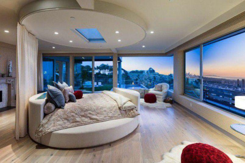 السرير المستدير