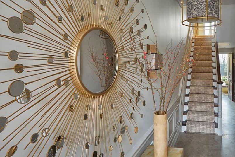 سحر المرايا في ديكور منزلك Mirrors-in-Wall-Deco