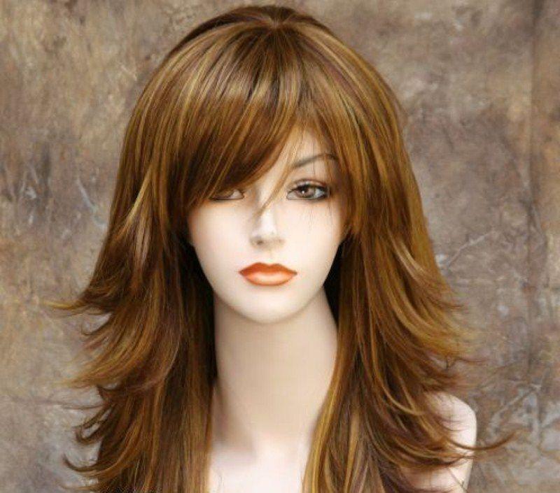 الشعر الطويل المتدرج