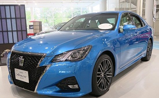 New Toyota Crown 2016