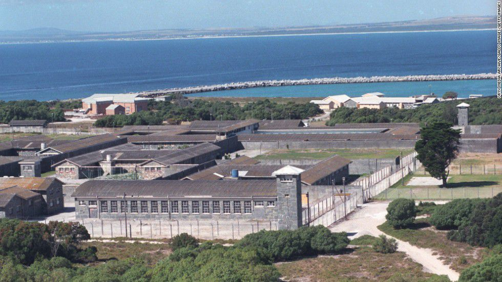 the political prisoners on Robben Island