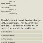 Spanish grammar - 293888