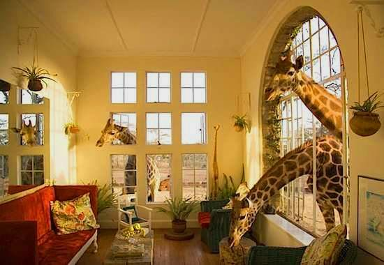 The Giraffe Manor, Nairobi, Kenya